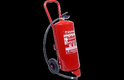 Extintor sobre ruedas PI-25