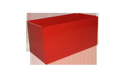Papelera rectangular
