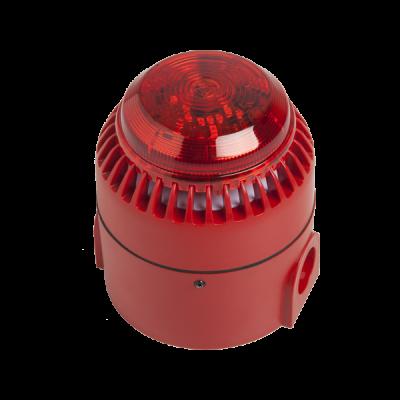 Sirena de alarma bitonal con luz SIR24BL