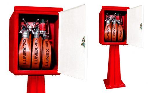 Hidrantes caseta intemperie