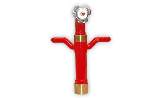 Hidrantes codo giratorio
